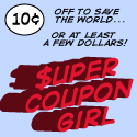 Super Coupon Girl button