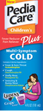 PediaCare Children's Fever Reducer Plus Multi-Symptom Cold