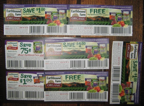 Earthbound Farms Coupons