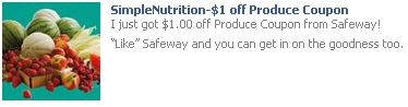 Safeway produce coupon