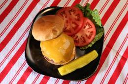Finlandia Double Gloucester Burger with Russian Dressing