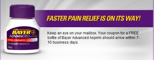 Bayer Aspirin Free Coupon