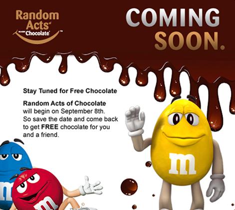 Free Candy Bar
