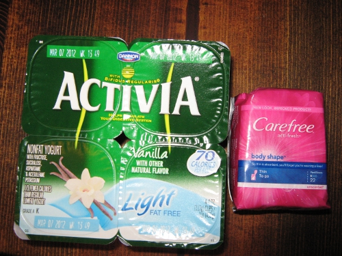 Activia & Carefree