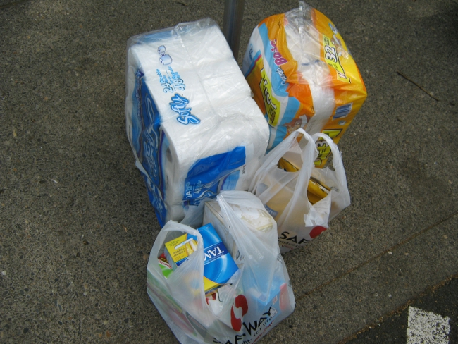 My Groceries From The Just4U Shopping Trip