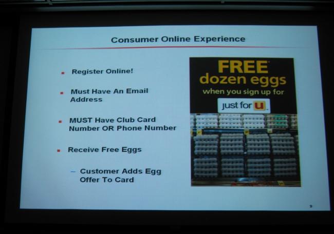 Slide From The Safeway Just4U Presentation I Attended