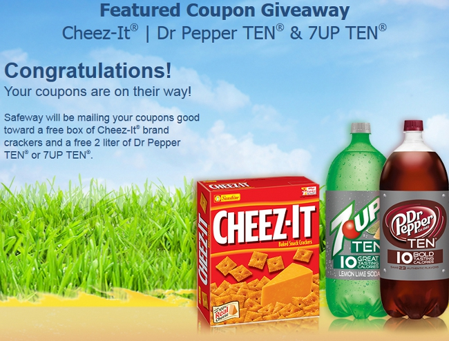 Cheez-It Free Coupon