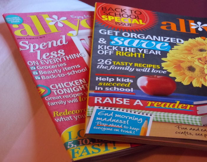 August Issue & Back-to-School Special